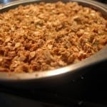 Recipe Collection: Soaked Apple Crisp