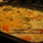 Recipe Collection: Cheesy Vegetable Casserole