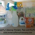 Simplify Cleaning: Recipes, Tips and Routines {GUEST POST}