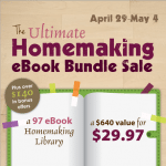 Coming Soon: The Ultimate Homemaking Ebook Bundle!