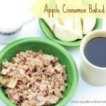 Recipe Collection: Baked Apple Cinnamon Oatmeal {Guest Post}