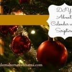 DIY Advent Calendar with Scripture