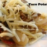 Recipe Collection: Taco Potatoes