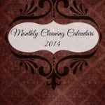 5 Tasks for Organization in Your Home: Cleaning Calendars for 2014