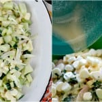 Fresh and Light Spring Salad with Cucumber, Mint, Honeydew Melon and Fennel ~ Real Food Family + Modern Alternative Mama