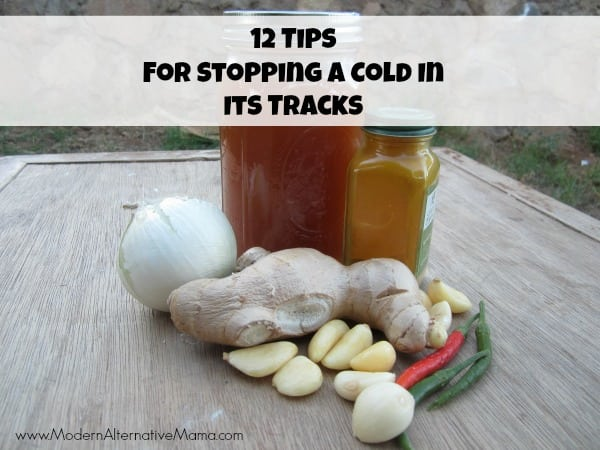 12 Tips For Stopping A Cold In Its Tracks