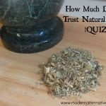 natural health quiz