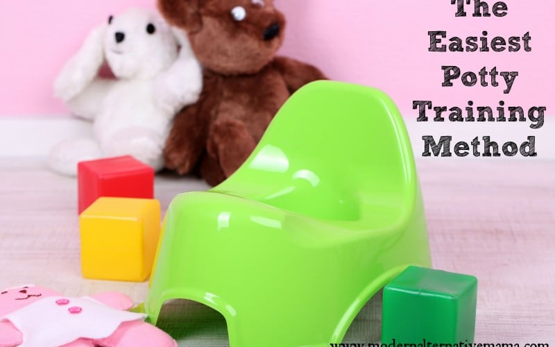 The Easiest Potty Training Method