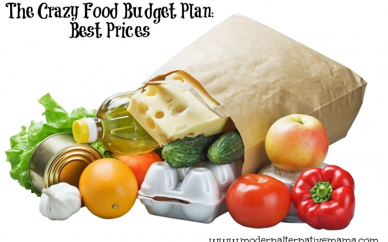 The Crazy Food Budget Plan: Best Prices