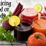 juicing good or bad